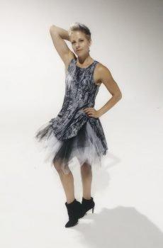 Julia Wilson Orlando Florida Fashion battle flare dress